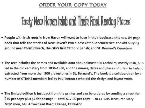 Irish Burial Places 1834 1850